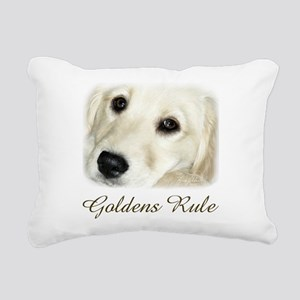 Goldens Rule Rectangular Canvas Pillow